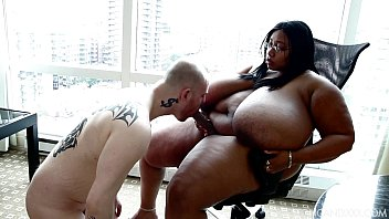xvideoa Sexy BBW Cotton Candi Makes Cuck Slave Suck Strap On Cock