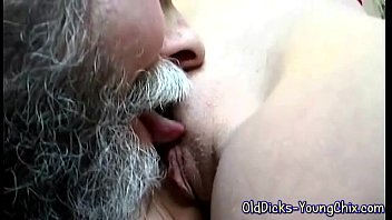 yourporn Fat old man and a young hot blonde