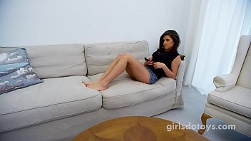 al4a Stunning young brte teen plays with her perfect pussy