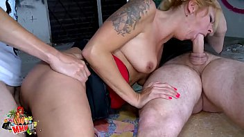 indonporn Hot blonde milf hard fucking and double pration