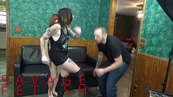 xvideos3 Lizzy Lamb and Sully Savage Ball Destruction FEMDOM