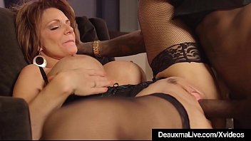 xnxxindian Hot Mature Cougar Deauxma Gets Drilled By A Big Black Cock
