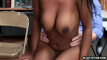 lunaycamila Lp Officer instruct Daya to sit her pussy on top of his cock