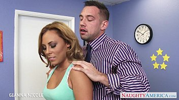 vqporn Sexy office babe Gianna Nicole fucking