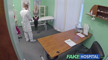 xyutv Fake Hospital Hot blonde gets the full doctors treatment