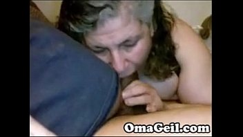 xvxxx OmaGeil Chubby granny sucking big old dick - Omapornorg