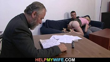 conejox Desperate husband pays a stud to fuck his wife