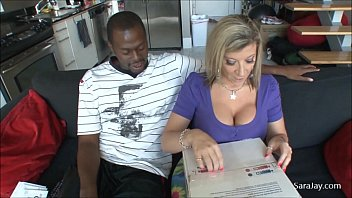 bravovids Sara Jay&rsquos Special Delivery for Black Cock