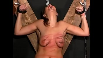 epornet Extreme torturema whipping and destruction of her breasts