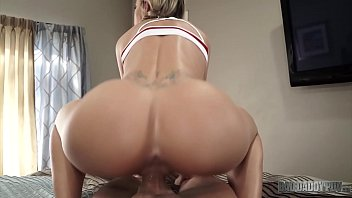 CURVY STEP DAUGHTER JESSA RHODES GETS CAUGHT IN THE ACT AND PUNISHED