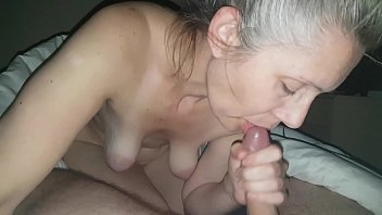 perfectgirls hanysy hot 43 year old milf is doing a blow job cum in mouth