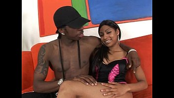 clanddi Cute babe spreads legs for black mutant cock