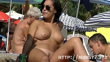 youjozz This nudist babes naked at the beachpilation is really arousing to watch