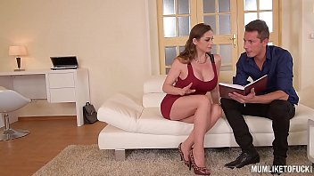 Mom Next door Cathy Heaven goes wild in DP Threesome