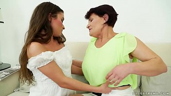pornvidio Mature woman and her much younger lesbian friend