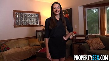 xxxpornhub PropertySex - Hot new real estate agent fucks to sell first house