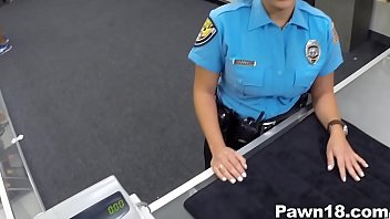 pornhurb Police Officer Comes into Pawn Shop