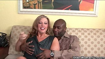 tushy com Milf lets black cock explode on her face