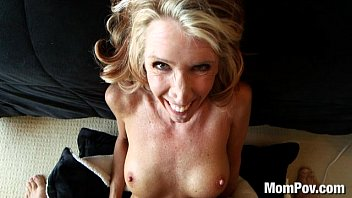 sexx Horny MILF fucks and swallows cum