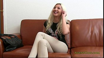 1919gogo Blonde amateur fucked on couch in office
