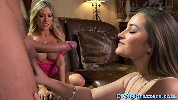 xhemster Bigtitted lezzies cumswapping on ffm