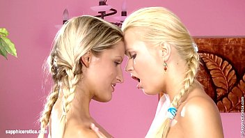 www squirt Beautiful blondes Paula and Aloha lesbian fun in Loving Lappers