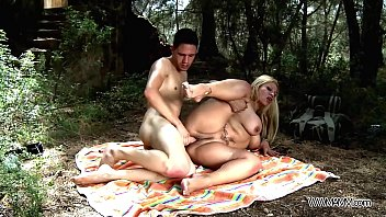 madlifes Busty mom take stepson to the nature where brutally fuck his big cock