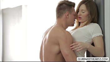 whereisyourwife com Ariadna A hot love scene with lover while parents are away in her room