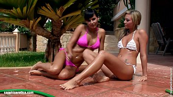 pornhup Water Seduction by Sapphic Erotica - lesbian love porn with Carie - Natali