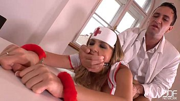 littlesubgirl BDSM Prescription - Handcuffed And Gagged in The Clinic