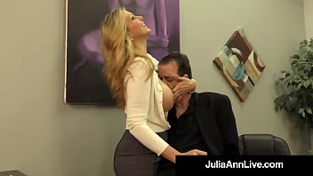 sexsrilanka Adult Award Winner Julia Ann Drains A Cock With Hot HandJob