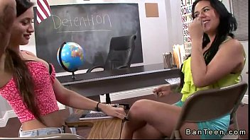 littlesubgirl Busty brte gives handjob to stepbrother of her frind in classroom