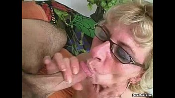 xvideoas Hairy granny loves young dick