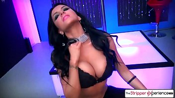 trans500 The Stripper Experience - Romi Rain suck your big dick in the champagne room