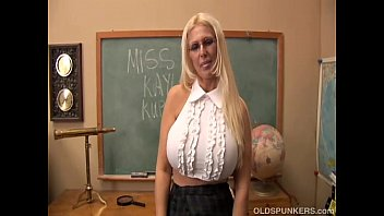 xxxfree Busty old spunker teaches you how to fuck her massive tits