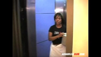 bangladeshxxx Ebony delivery girl letting the guys lick her