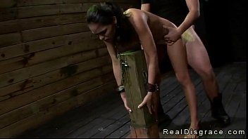 pornflip Busty brte Jasmine Caro chained to a post and deep throat fucked