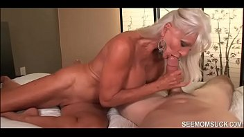 purnhup Granny Goes WILD over His Huge Dick - See Mom Suck