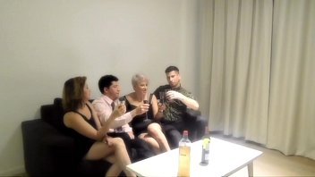 www pornhub con Orgy with my sister and two strangers we met in a bar