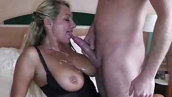 tvsex German Big Tit MILF seduce Big Dick Young Boy to Fuck