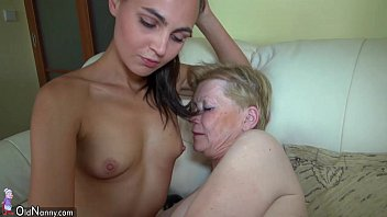 bustynudebabes Nice young woman and old granny masturbated