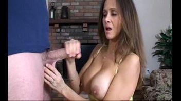 videoxxx HotWifeRio Caught step-son jacking off
