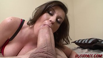 ama10 Sexy Sara Stone Takes a Crack at the Huge Cock of Whitezilla