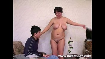 twotgirls Fat Mature mom and her son