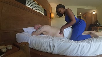 rapetube Massage in Africa with blowjob and cum eating
