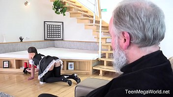 pornbu Old-n-Young - Lita Phoenix - Sexy maid serves old man