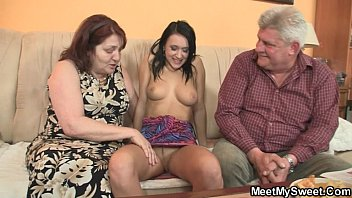 sexhayvc com He leaves and parents seduce his GF