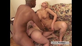 rebtude Two hot blondes play in the shower and then get fucked by a black cock SB-2-04