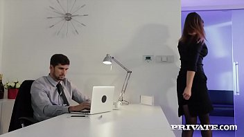 privatesociety com Private - Barbara Bieber Puts the Squeeze on Her Boss