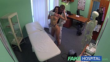 tude8 FakeHospital Gorgeous pole dancer with hot body swallows the doctors medicine